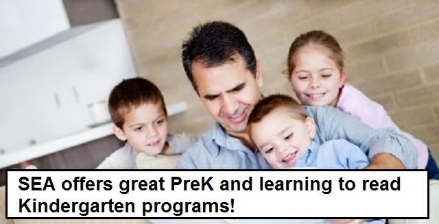 Pre Kindergarten and Kindergarten Programs
